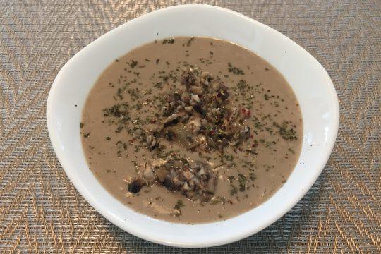 菌菇 浓汤 清甜 鲜美