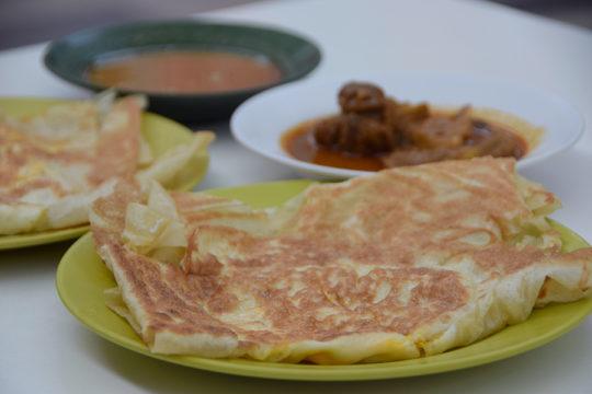 古晋印度甩饼